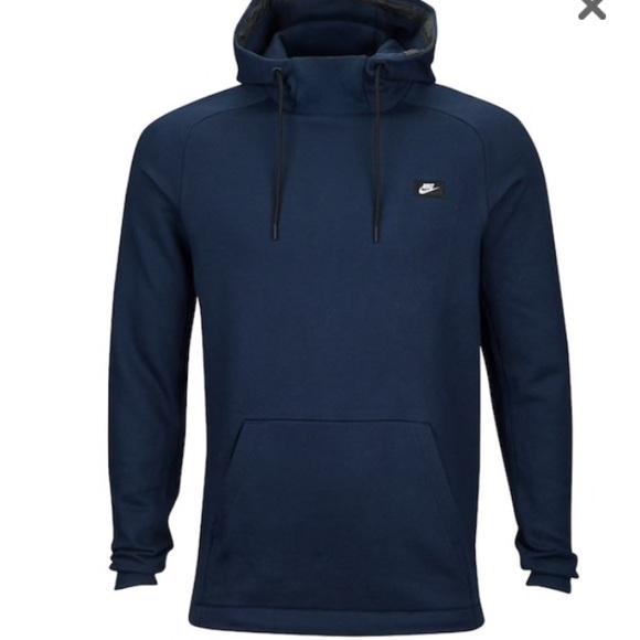 Nike Pullover Sweater/Hoodie Men Navy Blue